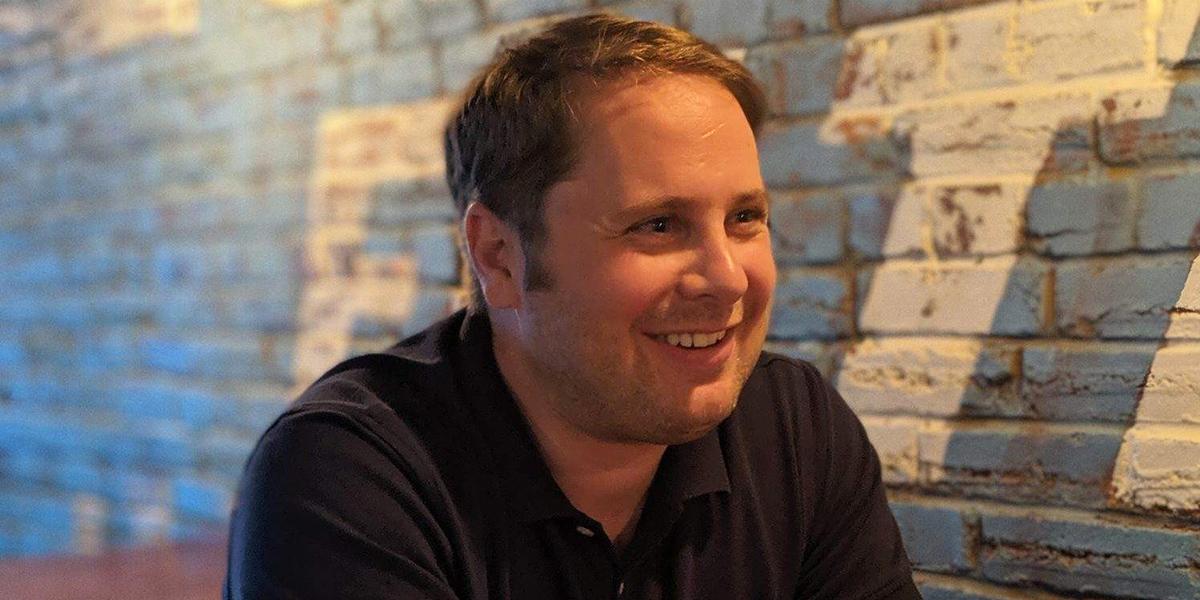 Benjamin Hart, brick wall interior setting